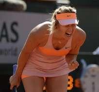 Maria Sharapova. Foto: EFE