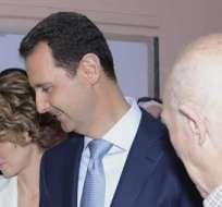 El indulto del reelecto presidente sirio es para los presos que no hayan cometido delitos de sangre. Foto: EFE.