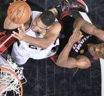 La gran final de la NBA se encuentra empatada uno a uno (Foto: EFE)