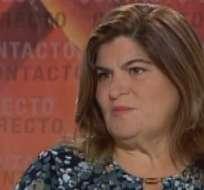 GUAYAQUIL, Ecuador.- María Elsa Viteri durante su entrevista en Contacto Directo. Foto: Ecuavisa