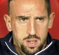 Franck Ribéry, futbolista francés (Foto: EFE)
