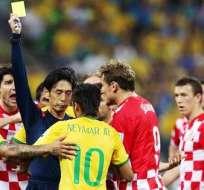 El árbitro del partido fue el centro de las críticas (Foto: EFE)