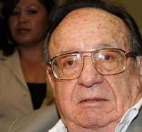 MÉXICO.- Roberto Gómez Fernández dijo que su papá (foto) está en Cancún, disfrutando de los partidos del Mundial. Foto: Archivo