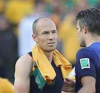 Van Persie y Robben alcanzan a Müller e irrumpe Mandzukic. Foto: EFE