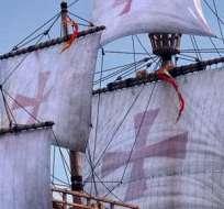 Los restos pueden pertenecer a una de las tres naos que llevó Colón en el viaje del descubrimiento de América.