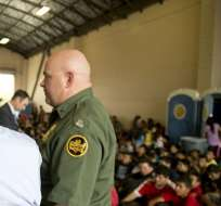 México detecta a 9.622 niños inmigrantes no acompañados en 2014. Foto: EFE