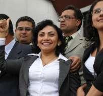 La Corte Constitucional deberá revisar el fallo de casación que declaró inocente a Mery Zamora. Foto: API