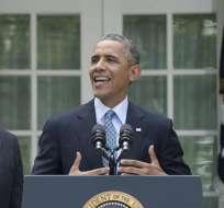 Obama actuará por su cuenta en inmigración ante la parálisis del Congreso. Foto: EFE