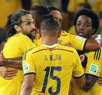 Los colombianos por primera vez están en cuartos de final de un Mundial (Foto: EFE)