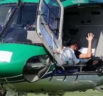 BRASIL.- El jugador será trasladado a su casa de Guarujá, en el litoral de Sao Paulo, para su recuperación. Fotos: EFE