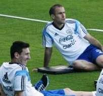 La selección argentina de fútbol se alista para las semifinales del Mundial (Foto: EFE)