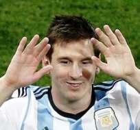 Lionel Messi, es finalista en el Mundial de Brasil (Foto: EFE)
