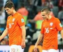 Holanda, quedó eliminada del Mundial de Brasil tras perder ante Argentina (Foto: EFE)
