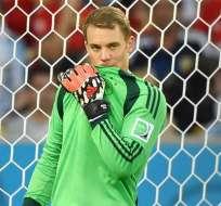 Manuel Neuer mejor portero del Mundial. Foto: EFE