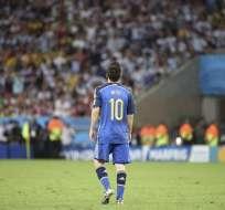 Messi gana el Balón de Oro al mejor jugador del Mundial. Foto: EFE