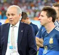 """Sabella: """"Messi merecía el Balón de Oro, lleva tiempo en el olimpo"""". Foto: EFE"""