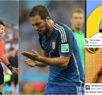 "Twitter reacciona junto a ""Pipita"" Higuaín"