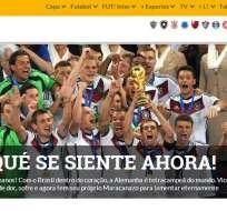 Argentina ahora tiene un Maracanazo para lamentar, dice prensa brasileña.