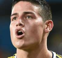 COLOMBIA.- El seleccionado colombiano se coronó el máximo goleador del Mundial por encima de Müller y Messi. Fotos: Agencias