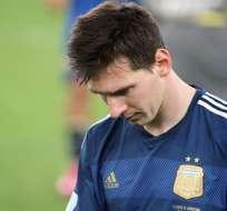 La FIFA publicó su once ideal donde no fue considerado Messi. Foto: EFE