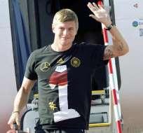 El internacional alemán Toni Kroos es el nuevo jugador del Real Madrid. Foto: EFE.