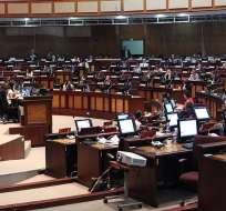 El proyecto registra 62 modificaciones desde su llegada a la Asamblea. Foto: Asamblea Nacional
