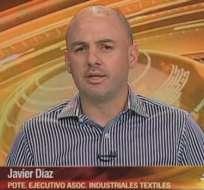 GUAYAQUIL, Ecuador.- Javier Díaz durante su entrevista en Contacto Directo. Foto: Ecuavisa