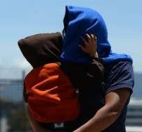 Arribó a Guatemala segundo vuelo de niños deportados junto a sus familiares. Foto: EFE