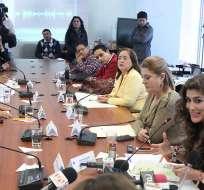 QUITO, Ecuador.- La asambleísta Cristina Reyes argumenta que esos fondos son privados. Foto: Asamblea Nacional