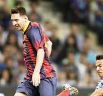Lionel Messi, jugador argentino del Barcelona de España (Foto: EFE)