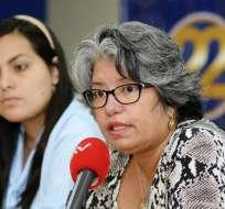 GUAYAQUIL, Ecuador.- Según su representante Maritza Yépez (d), al ser un ahorro privado, el Estado no podría interferir. Fotos: API