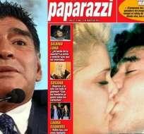 ARGENTINA.- El extécnico argentino consideró la posibilidad de volver con la madre de su último hijo, Dieguito. Foto: Internet