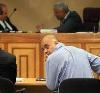 En Panamá suspenden audiencia de Galo Lara sobre pedido de fianza. Foto: EFE