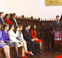"""QUITO, Ecuador.- En los actos por el 10 de agosto, el alcalde aseguró que """"Quito es y será ciudad de libertad"""". Foto: Municipio de Quito"""