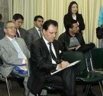QUITO, Ecuador.- El titular Carlos Ochoa cuestionó, por ejemplo, la sanción que se impone por linchamiento mediático. Foto: API