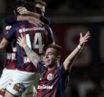 San Lorenzo el campeón. Foto: AFP.