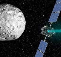 Con un diámetro de un kilómetro, el meteorito 1950 DA se desplaza a una velocidad de nueve millas por segundo.