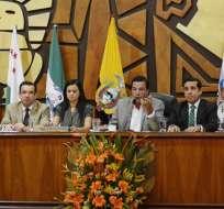 Oficialismo y oposición se unen para defender a la provincia del Guayas. Foto: API