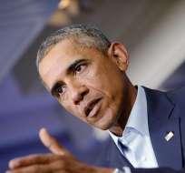 Barack Obama aseguró que Estados Unidos seguirá con los bombardeos en el norte de Irak. Foto: EFE