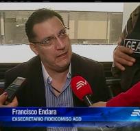 Francisco Endara, único detenido del caso, indicó que existen otros 28 créditos entregados de la misma forma.