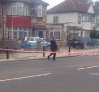 El asesinato fue sin motivos terroristas, según precisó la policía. Hay un detenido en el caso. Foto: Twitter.