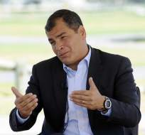 El presidente Rafael Correa confirmó que no mantendrá el subsidio que entrega al transporte urbano.