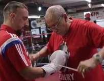 Alí y Tyson entrenaron en el Glason de Nueva York.