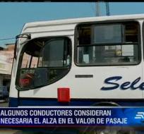 En la Federación de Estudiantes de la Universidad de Guayaquil, consideran que esta alza de la tarifa del transporte tendrá un impacto negativo.