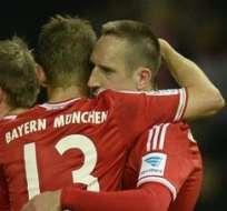Bayern no contará con Ribery.