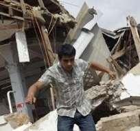 INTERNACIONAL.- Según un estudio, unos 22 millones de personas fueron desplazadas debido a los desastres naturales. Foto: Archivo