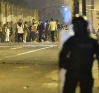 Autoridades educativas anunciaron que algunos estudiantes serán separados de sus planteles. Foto: AFP
