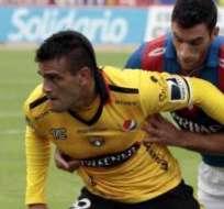 Laurito no fue el aporte que Barcelona esperaba. Foto: API.