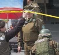 CHILE. El hecho ocurre dos días después de la presentación oficial de cargos contra dos sospechosos de haber cometido dos atentados con bombas en el metro.