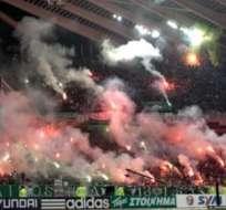 La violencia se ha tomado los estadio griegos.